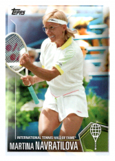 2019 Topps Tennis Hall of Fame 23 Martina Navratilova