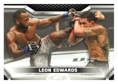 2020 Topps UFC Knockout 22 Leon Edwards - Welterweight