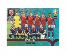 Panini Adrenalyn XL UEFA EURO 2020 Play-off Team 462 Norway