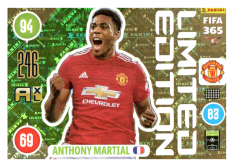 Panini Adrenalyn XL FIFA 365 2021 Limited Edition Anthony Martial Manchester United