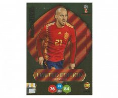 Fotbalová kartička Panini Adrenalynl XL World Cup Russia 2018 Limited Edition David Silva