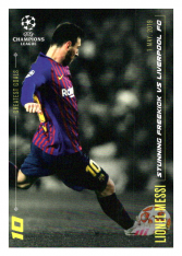 2020 Topps LM Greatest Goals Lionel Messi Stunning Freekick vs Liverpool