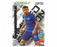 Fotbalová kartička Panini Road To Euro 2020 – Limited Edition -  Greece - Sokratis Papastathopoulos