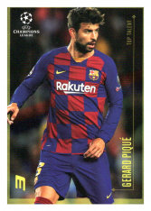 2020 Topps LM Top Talent Gerard Pique FC Barcelona