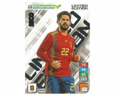 Fotbalová kartička Panini Road To Euro 2020 – Limited Edition  Isco