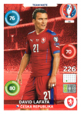 Panini Adrenalyn XL EURO 2016 Team Mate 56 David Lafata Česká Republika
