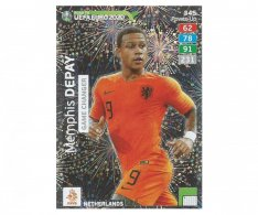 Fotbalová kartička Panini Adrenalyn XL Road to EURO 2020 -  Game Changer - Memphis Depay - 345