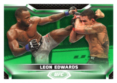2020 Topps UFC Knockout 22 Leon Edwards - Welterweight /88