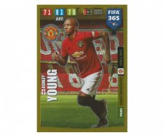 Fotbalová kartička Panini FIFA 365 – 2020 FANS FAVOURITE  66 Ashley Young