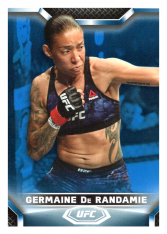2020 Topps UFC Knockout 73 Germaine De Randamie - Bantamweight /75