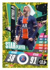 fotbalová kartička Topps Match Attax Champions League 2020-21 Star Player SP12 Neymar Jr - PSG