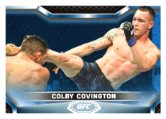 2020 Topps UFC Knockout 62 Colby Covington - Welterweight /75