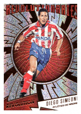 2016-17 Panini Revolution Revolutionaries R-19 Diego Simeone Atletico Madrid