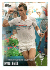 2019 Topps Tennis Hall of Fame 22 Ivan Lendl