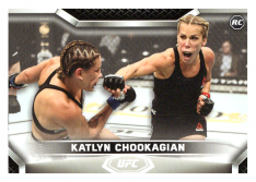 2020 Topps UFC Knockout 7 Katlyn Chookagian RC - Flyweight