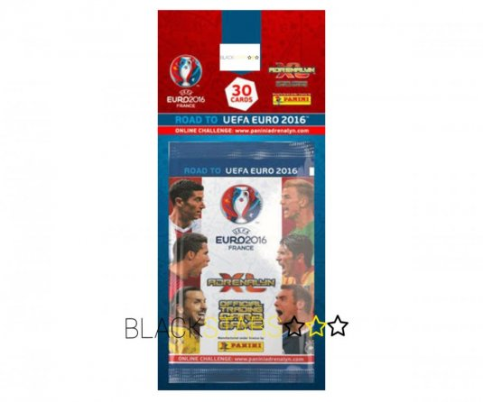 Blister pack Panini Adrenalyn XL Road to EURO 2016