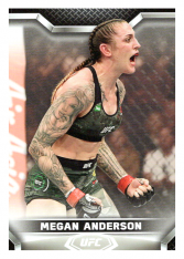 2020 Topps UFC Knockout 16 Megan Anderson - Featherweight