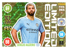 Panini Adrenalyn XL FIFA 365 2021 Limited Edition Sergio Aguero Manchester City