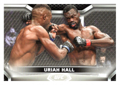 2020 Topps UFC Knockout 8 Uriah Hall - Middleweight