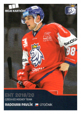 2019-20 Czech Ice Hockey Team  25 Radovan Pavlík
