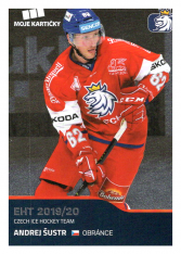 2019-20 Czech Ice Hockey Team  36 Andrej Šustr