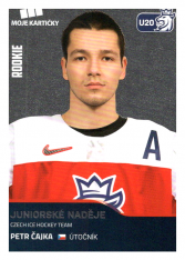 2019-20 Czech Ice Hockey Team 75 Petr Čajka