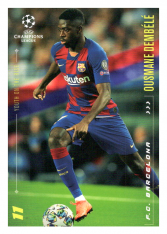 2020 Topps LM Top Youth of the rise Ousmane Dembele FC Barcelona