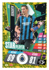 fotbalová kartička Topps Match Attax Champions League 2020-21 Star Player SP14 Hans Vanaken - Club Brugge
