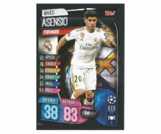 Fotbalová kartička 2019-2020  Topps Champions League Match Attax - Real Madrid CF -  Marco Asensio 15