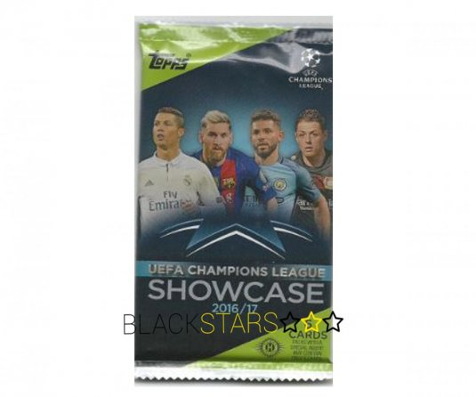 2016-17 Topps Showcase Champions League Hobby box