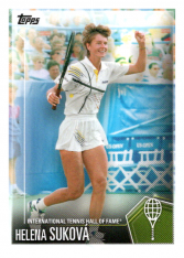 2019 Topps Tennis Hall of Fame 3 Helena Suková