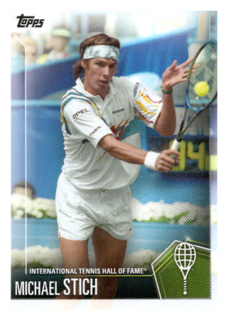 2019 Topps Tennis Hall of Fame 2 Michael Stich