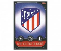 Fotbalová kartička 2019-2020  Topps Champions League Match Attax -  ATL1 znak Atletico Madrid