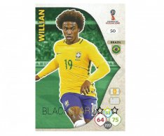 Fotbalová kartička Panini Adrenalynl XL World Cup Russia 2018 Team Mate50 Willian