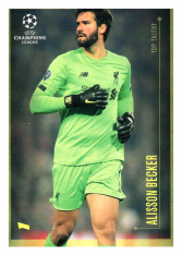 2020 Topps LM Top Talent Alisson Becker LIverpool FC