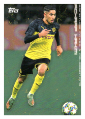 2020 Topps Borussia Dormund Signature Moves & Celebrations 29 Achraf Hakimi