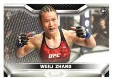 2020 Topps UFC Knockout 5 Weili Zhang RC - Strawweight