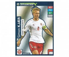 Fotbalová kartička Panini Adrenalyn XL Road to EURO 2020 -  Fans Favourite - Simon Kjaer - 240
