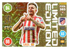 Panini Adrenalyn XL FIFA 365 2021 Limited Edition Saul Atletico Madrid