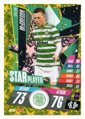 fotbalová kartička Topps Match Attax Champions League 2020-21 Star Player SP15 Callum McGregor - Celtic FC