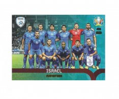 Panini Adrenalyn XL UEFA EURO 2020 Play-off Team 458 Israel