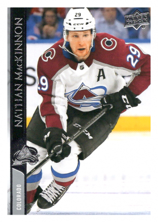2020-21 UD Series One 51 Nathan MacKinnon - Colorado Avalanche