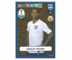 Fotbalová kartička Panini FIFA 365 – 2019 Heroes 384 Ashley Young (England)