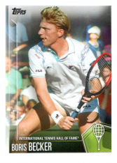 2019 Topps Tennis Hall of Fame 20 Boris Becker