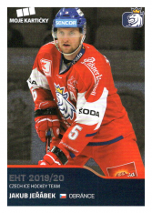 2019-20 Czech Ice Hockey Team  13 Jakub Jeřábek