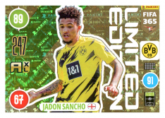 Panini Adrenalyn XL FIFA 365 2021 Limited Edition Jadon Sancho Borussia Dortmund