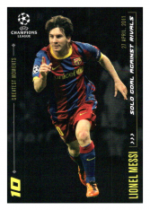 2020 Topps LM Greatest Goals Lionel Messi Solo Goal Against Rivals