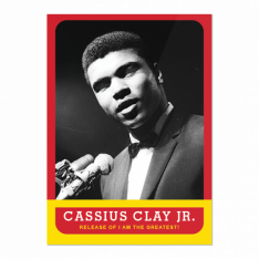 Sběratelská Kartička 2021 Topps MUHAMMAD ALI - The People's Champ 4. Cassius Clay Jr.