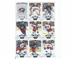 2019-2020 Upper Deck O-Pee-Chee Týmový set Columbus Blue Jackets
