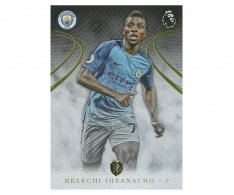 2016 Topps Gold Premier League 81. Kelechi Iheanacho Manchester City